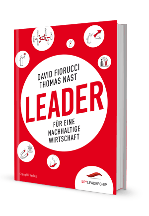 "Buchcover ""Leader"""