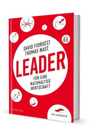 "Buchcover ""Leader"""